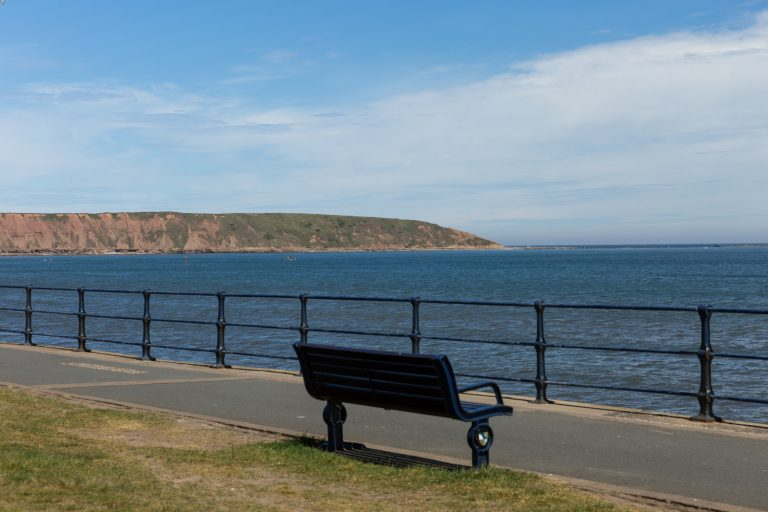 Glenview Filey Coast Beach Bench 1d