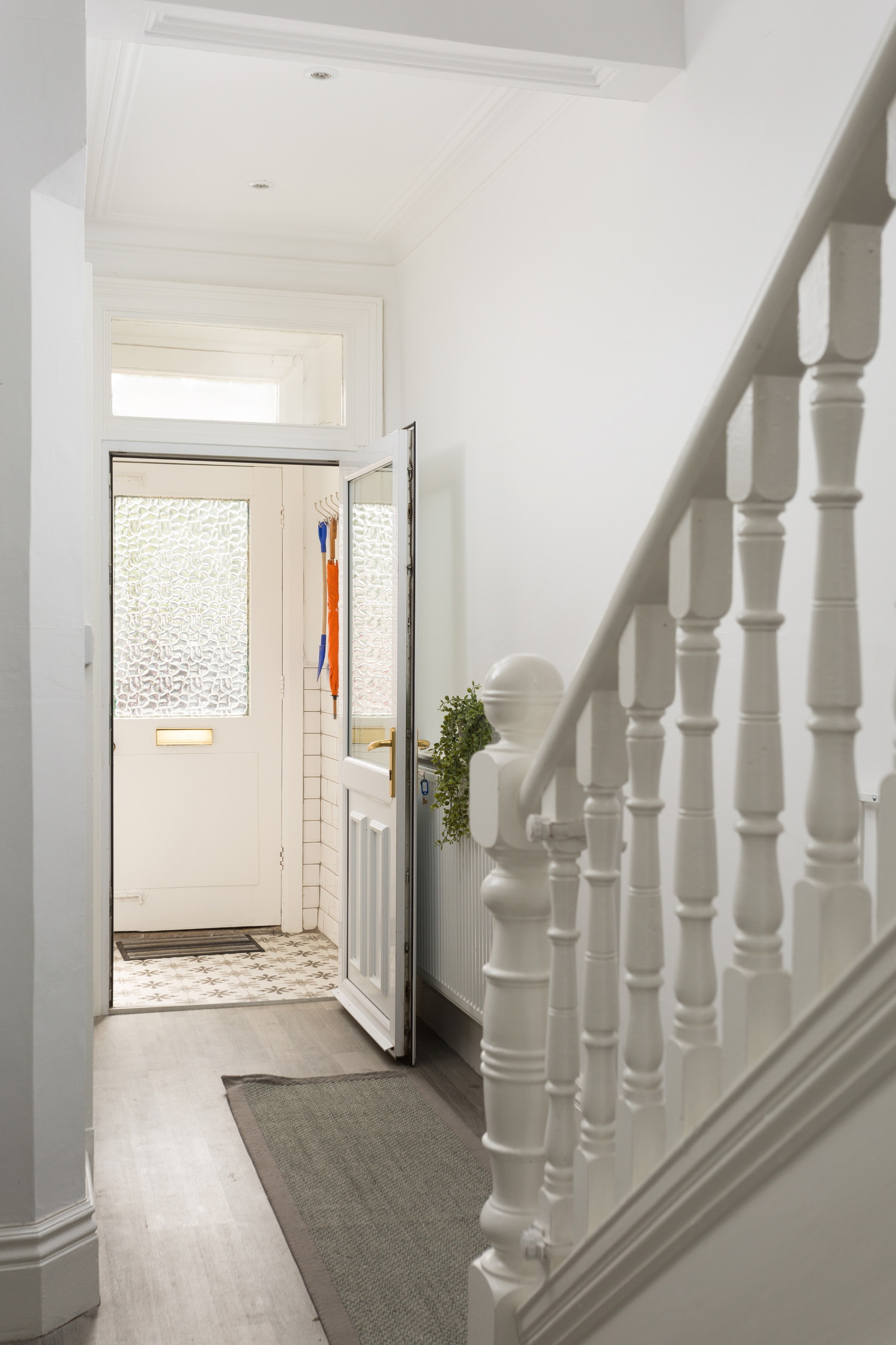 Glenview House Filey Front Door Stairs