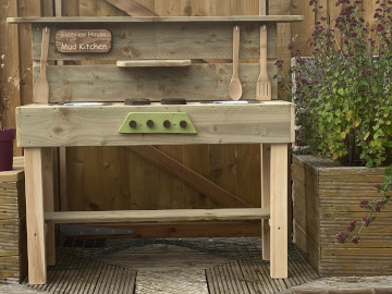 Mud Kitchen For Baby And Toddler Holiday Fun