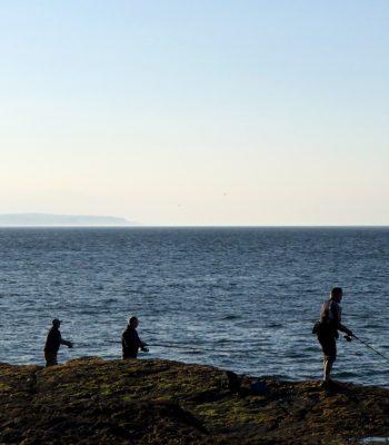 Fishing Filey Brigg - Beyond Filey
