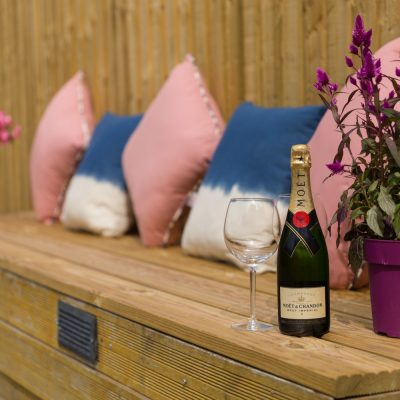 Glenview House Filey Garden Seats