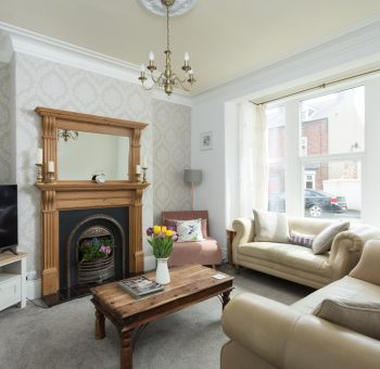 Glenview House Filey Living Room 1a